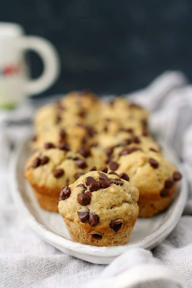 dairy free banana muffins