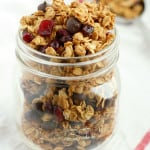 Chocolate Chip Cranberry Granola.