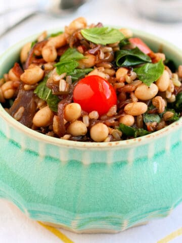 gluten free wild rice salad