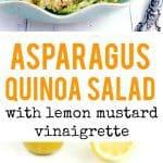 quinoa salad with asparagus