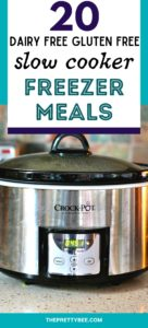 dairy free gluten free freezer meal recipes