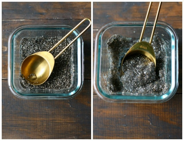 how to make a chia seed egg replacer