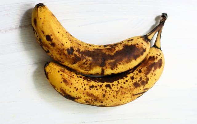 very ripe bananas