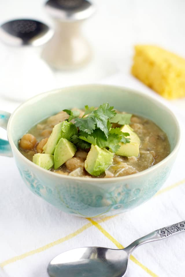 crockpot white bean chicken chili recipe