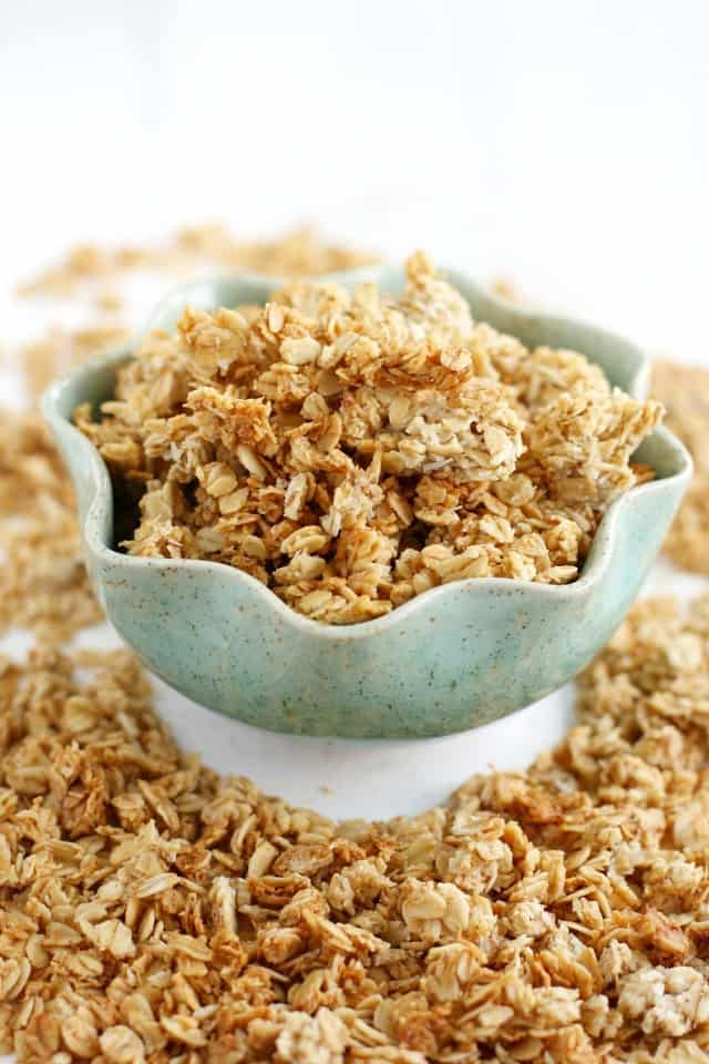 toasted coconut banana granola