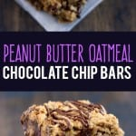 These peanut butter oat bars are simply the BEST! Soft, rich, chewy, chocolatey, and irresistible!