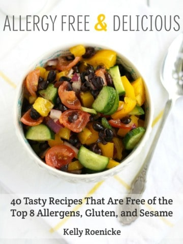 Allergy Free and Delicious - a new ebook with 40 recipes that are free of the top 8 allergens and sesame and gluten.