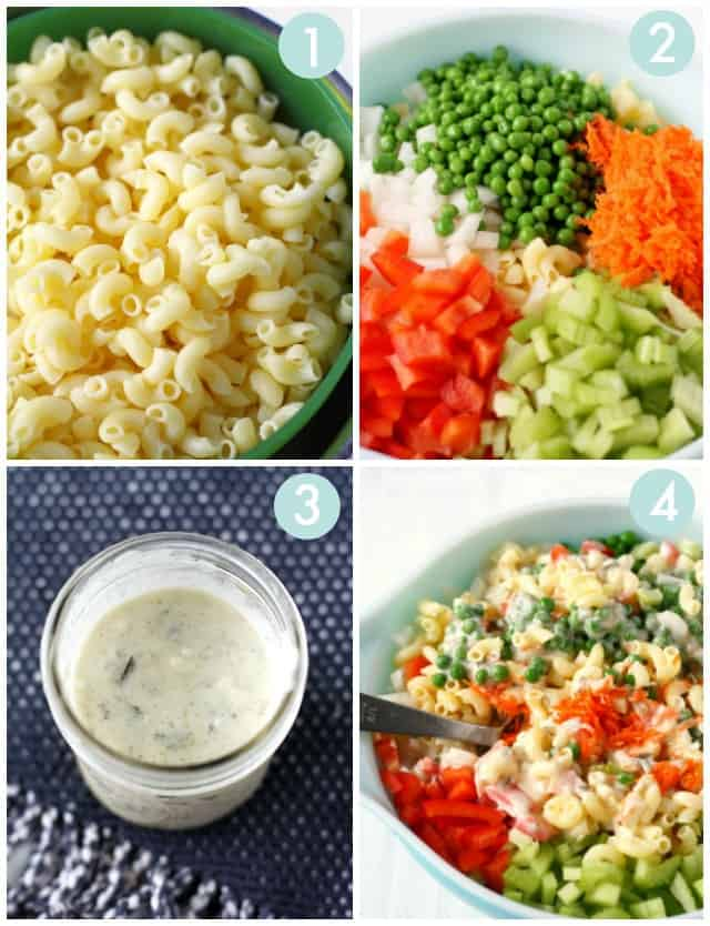 how to make vegan macaroni salad