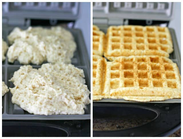 how to make vegan waffles