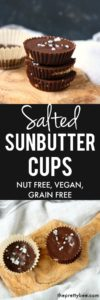 salted sunbutter cup recipe