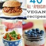 All-American Vegan Recipes.