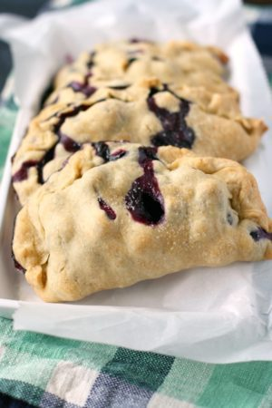 dairy free blueberry hand pies