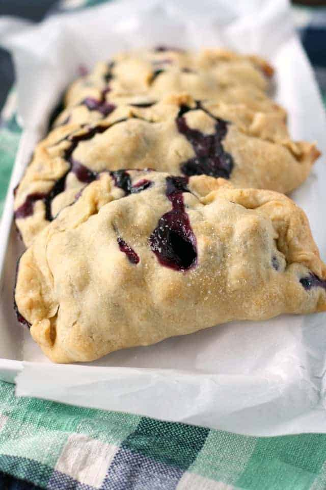 Scrumptious Blueberry Hand Pies The Pretty Bee
