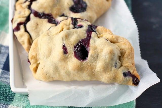 easy blueberry handpies