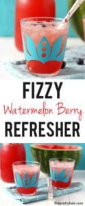 watermelon berry refresher