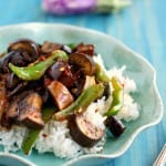 vegan eggplant stir fry recipe