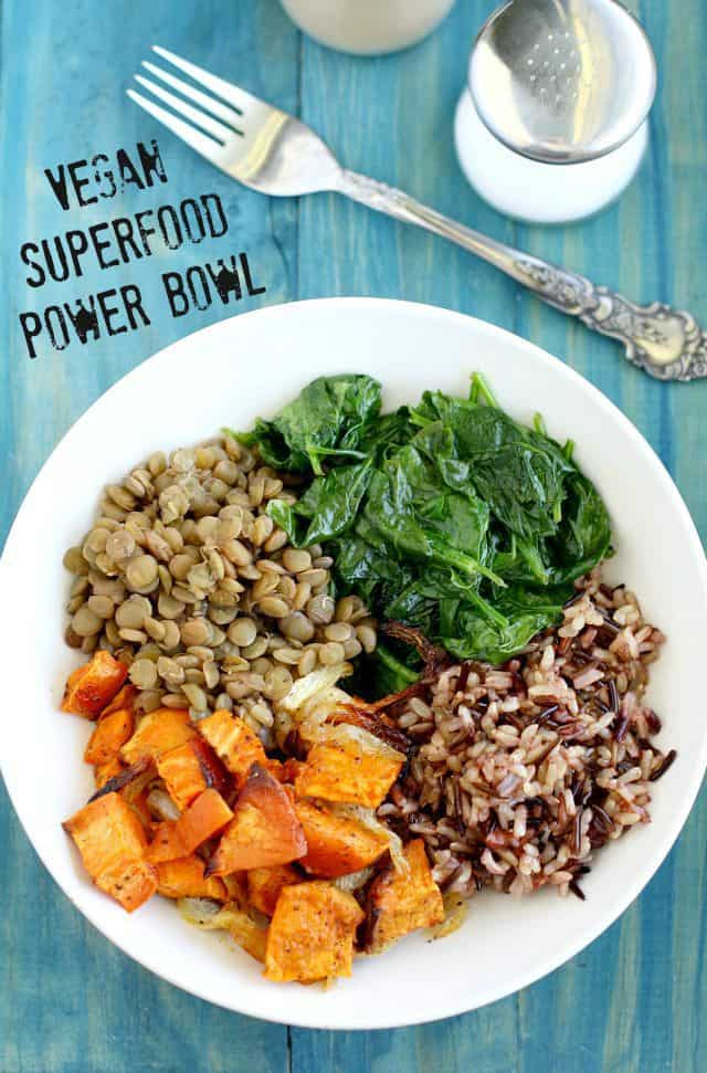 healthy power bowl recipe