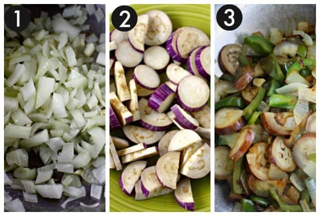 how to make eggplant stir fry