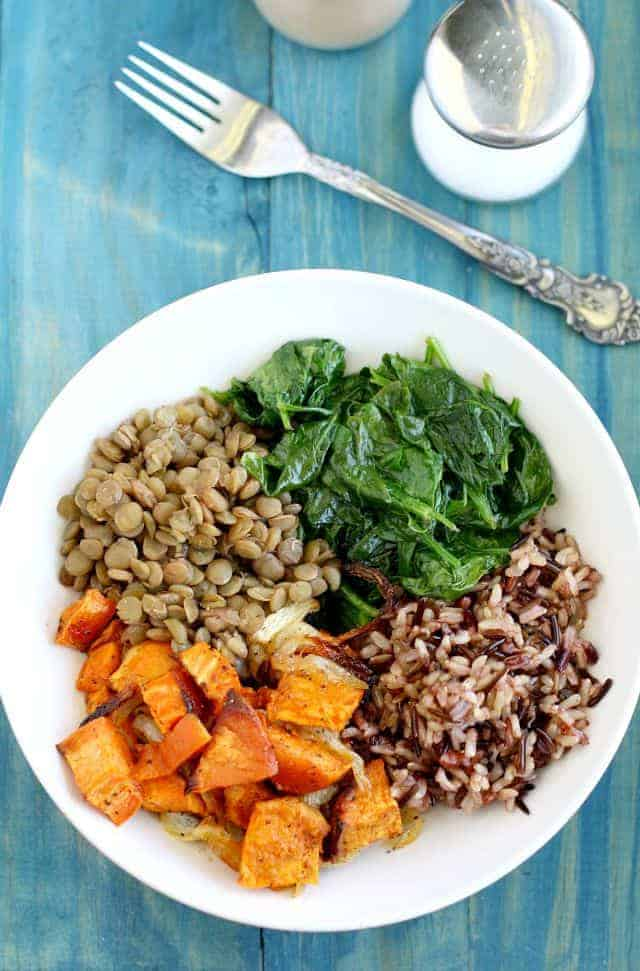 vegan superfood power bowl