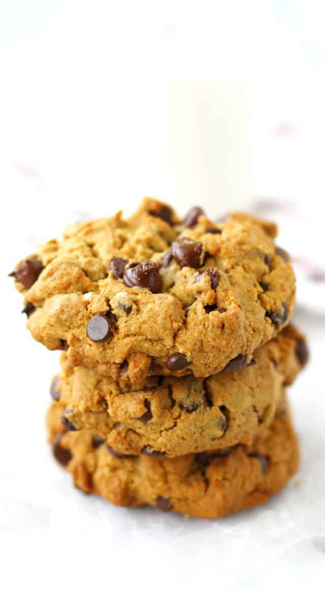 vegan chocolate chip cookies without eggs