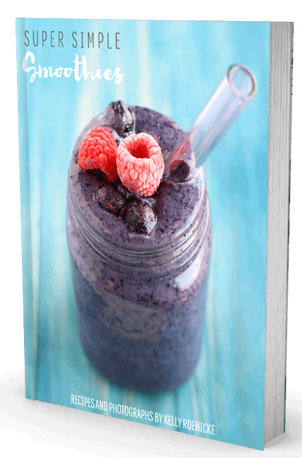 Super Simple Smoothies is a new ebook that features easy, delicious, healthy, and vibrant smoothie recipes. You'll love starting your day with these gorgeous smoothies. theprettybee.com