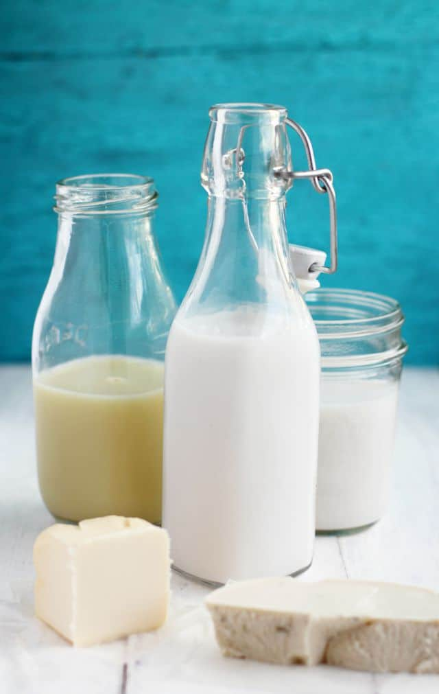 A handy guide to dairy substitutions from theprettybee.com