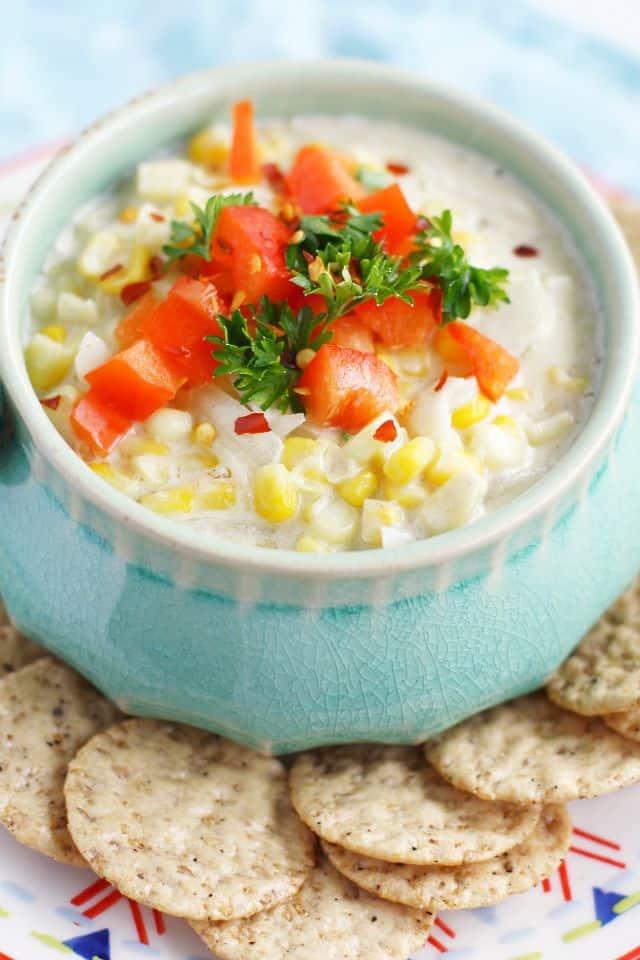 easy hot corn dip recipe