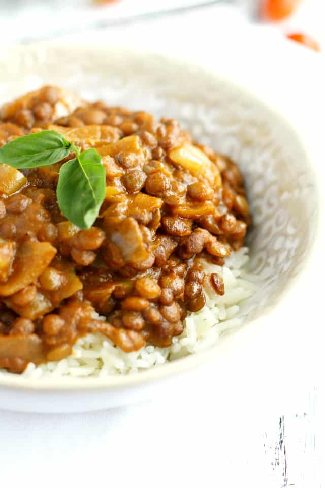 dairy free lentil curry recipe