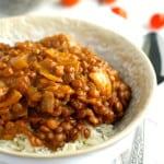 Slow Cooker Lentil Curry.