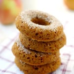 Spiced Apple Cider Donuts (Vegan and Gluten Free).