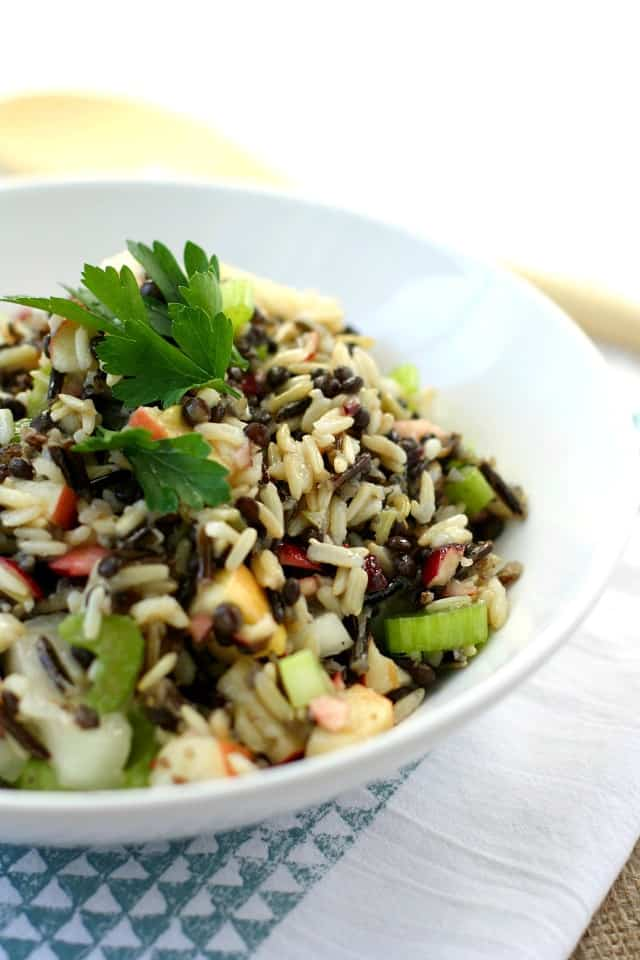 how to cook lentils and wild rice