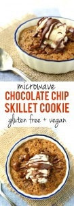 Decadent and rich, this individual skillet cookie is the perfect way to treat yourself!