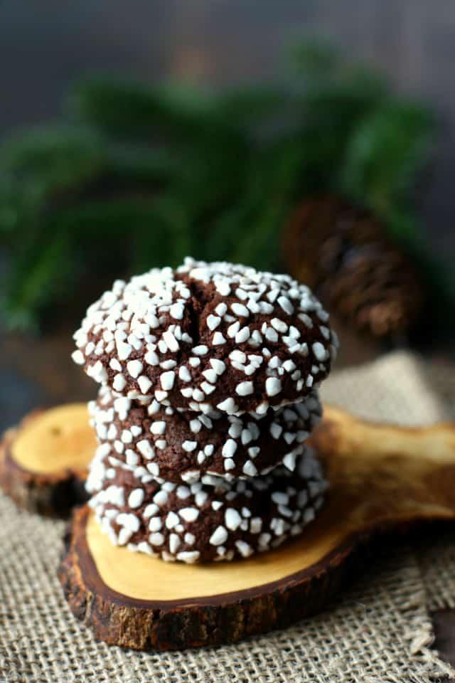 gluten free vegan chocolate dot cookies