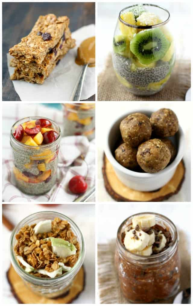 Make these healthy breakfasts ahead of time and start your day off on a delicious note!