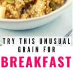 vegan breakfast porridge recipe