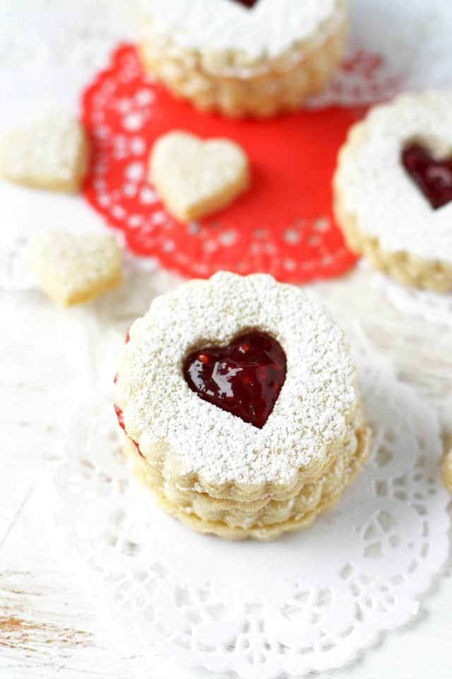 recipe for vegan linzer cookies