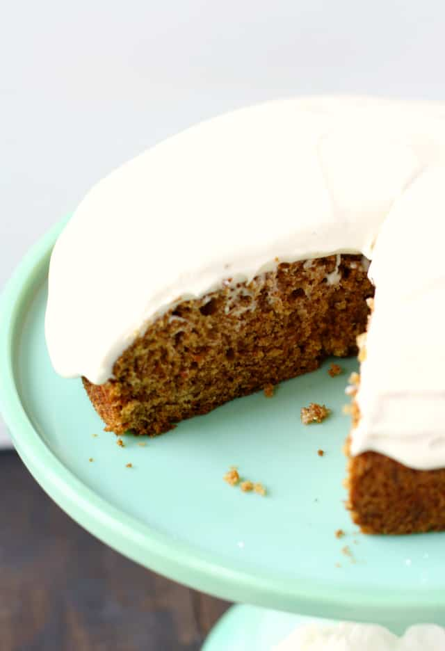 easy gluten free vegan carrot cake recipe