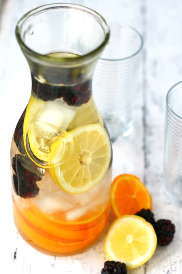 Citrus blackberry water