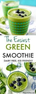 super easy green smoothie