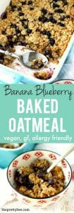 A hearty baked oatmeal recipe that the whole family will enjoy! This can be assembled the night before - just pop it into the oven in the morning!