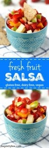 Fresh fruit salsa - an easy summer treat everyone loves!