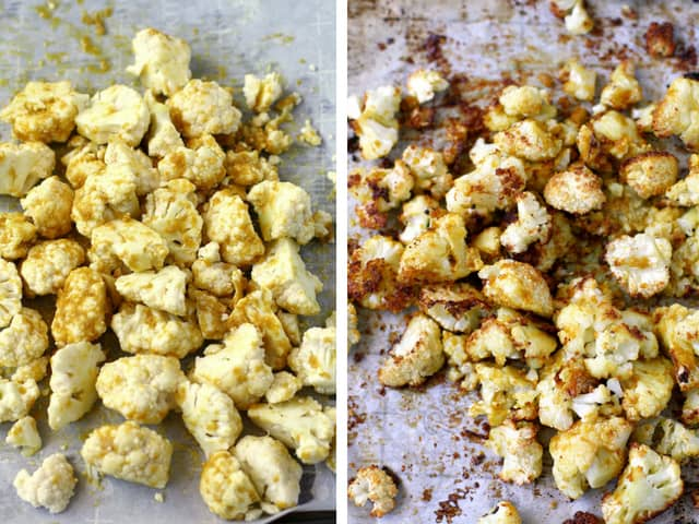 vegan roasted cauliflower recipe