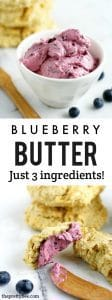 Such an easy way to impress your guests! This 3 ingredient blueberry butter is absolutely delicious on toast or biscuits. Perfect for a breakfast or brunch.