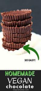 easy to make dairy free chocolate