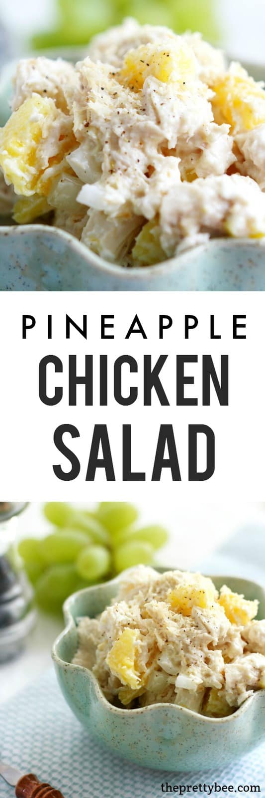 Pineapple chicken salad is a delicious twist on a classic recipe!