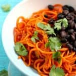Southwest Sweet Potato Noodles.