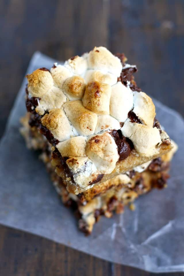gluten free smores bars recipe