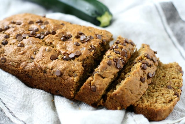chocolate chip vegan zucchini bread