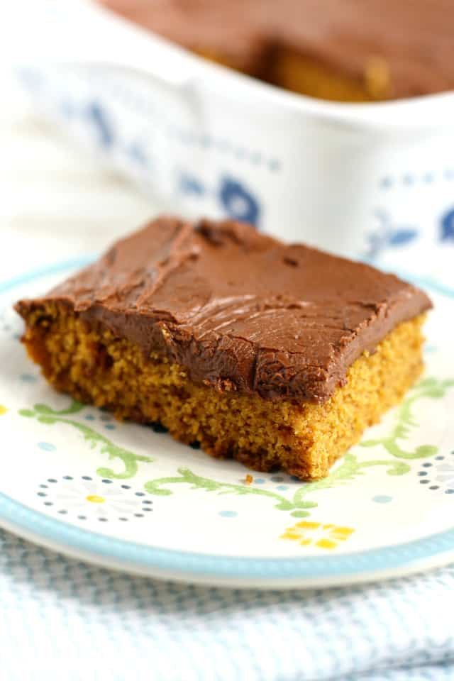 vegan pumpkin sheet caker recipe