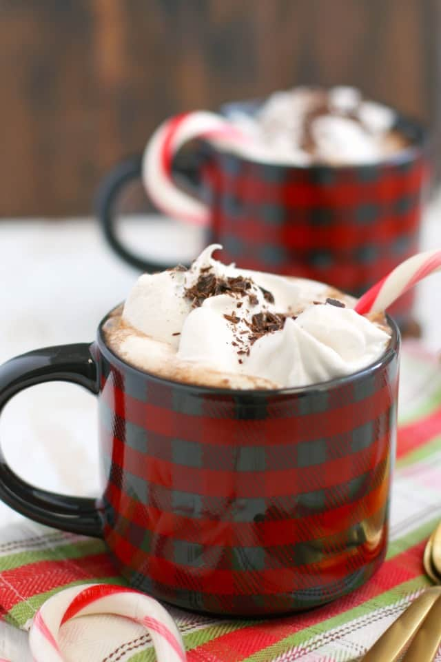 vegan peppermint hot cocoa recipe